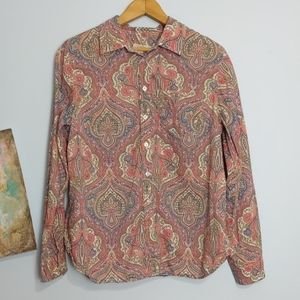 Talbots Blouse Size MP
